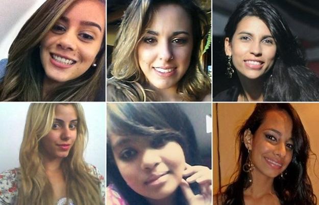 Algumas das vítimas do serial killer (Foto: Reprodução)