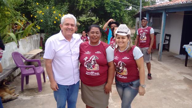 A cavalgada do Lameirão, organizada por Claudio Teles, teve término na fazenda de Dona Maria e familiares. Esse é o segundo ano da cavalgada em que Dó Miguel participa