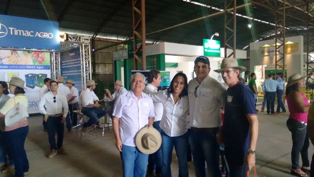 Dó Miguel recebeu o apoio de amigos da Timac Agro e colegas rotarianos de Barreiras