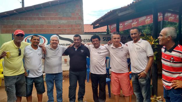 Vice-prefeito de São Desidério, Reginaldo, seu Farinha e familiares com Dó Miguel