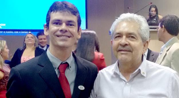Presidente de honra Emerson Cardoso e Dó Miguel