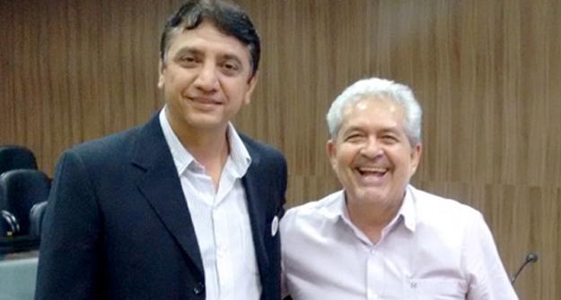Membro do Conselho Fiscal Geovani de Souza e Dó Miguel