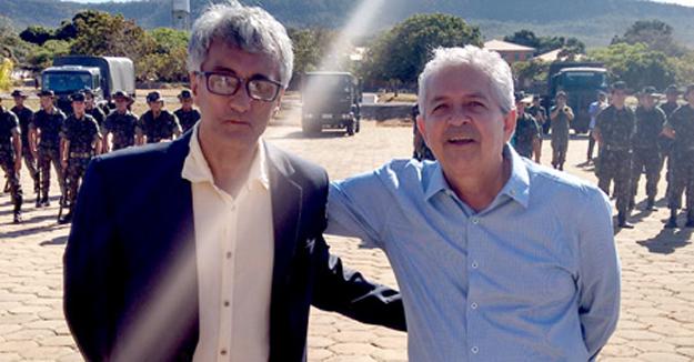 Paê Barbosa, vice-prefeito de Barreiras e Dó Miguel