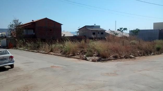 O terreno está localizado entre as ruas Pastor Paulo Leivas Macalão e Jorge Amado no Bairro Bandeirantes