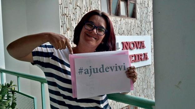 Daniela também é doadora da campanha