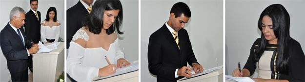 Assinatura do termo de instalação do Cejusc na Faculdade Dom Pedro II de Barreiras