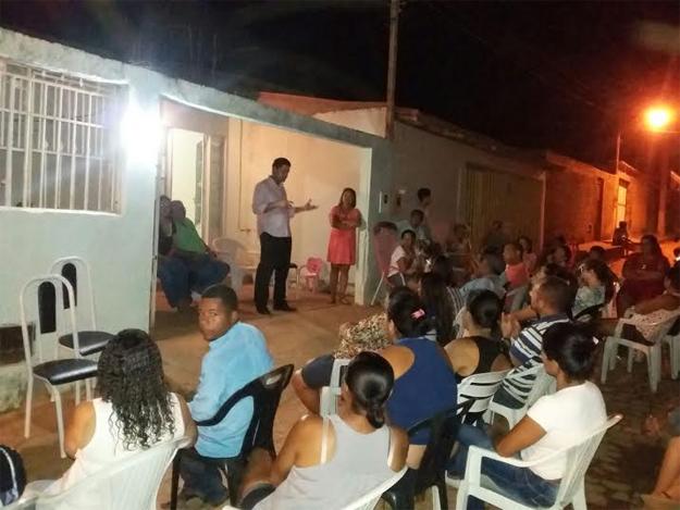 Os moradores relataram a falta de infraestrutura do Bairro Boa Sorte