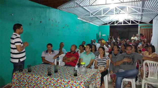 Na Santa Luzia vários moradores apoiam a pré-candidatura do médico