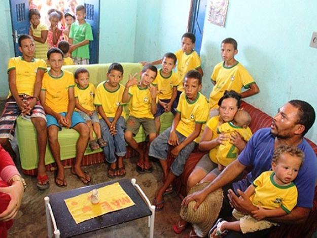 Família mora na zona rural da cidade de Conceição do Coité (Foto: Raimundo Mascarenhas/Calila Notícias)