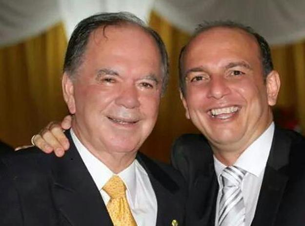 Renatinho com João Leão, vice-governador da Bahia